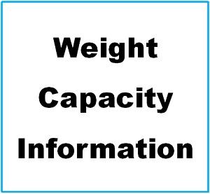 Weight capacity Info