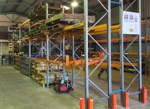 Toll Mining Dysart Dexion racking1 LR300