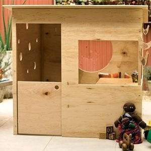 Cubby House made from Plywood