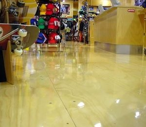 Flooring Plywood in shop