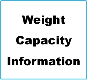 Weight capacity Info