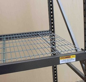 Widespan -Mesh Shelving