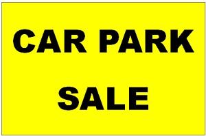 Car Park sale