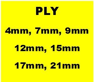 Ply Sizes